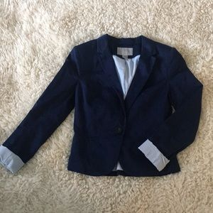 H&M women's navy blazer